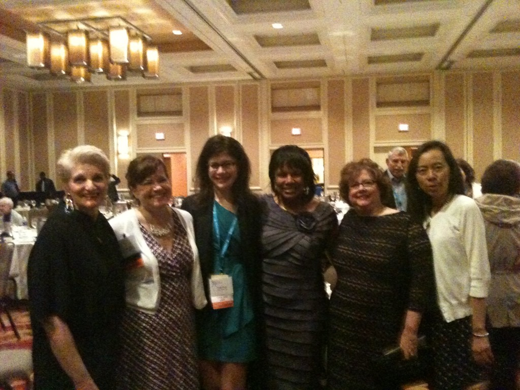 From left to right: The Fab 5 and Betty: Cathy, Estrella, Paula, Betty, Lynn, and Judy (never lost and never forgotten)