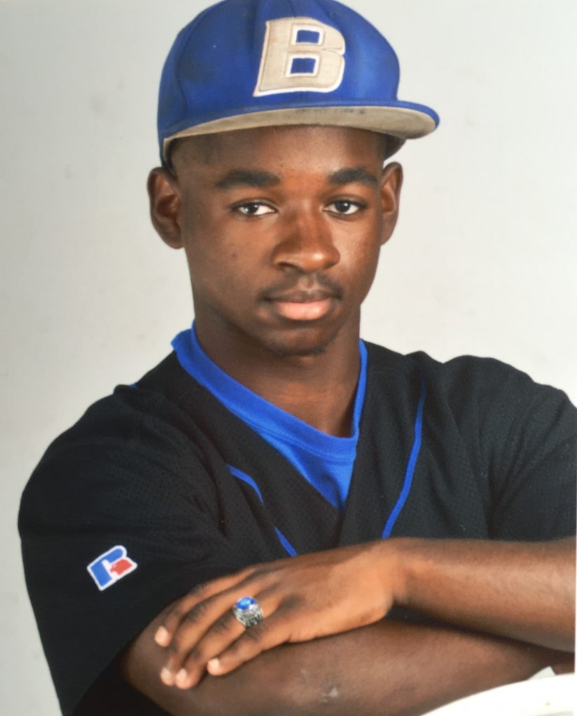 Brandon Collier, Boltoh High School Varsity Outfielder, Class of 2017